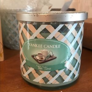 Yankee candle Tea Time limited edition new